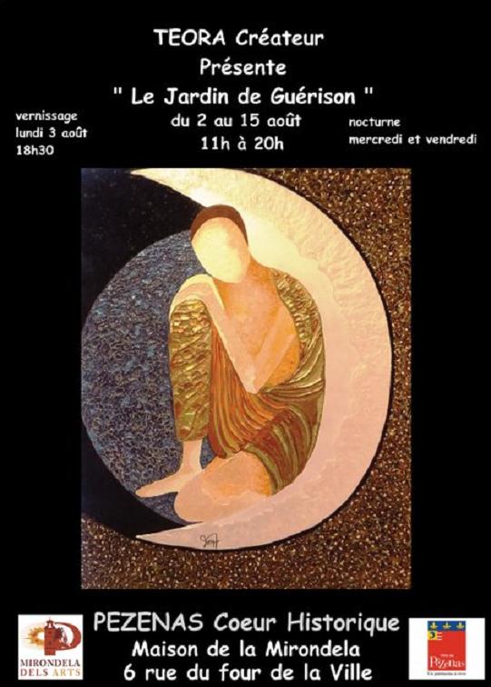 Affiche teora mirondela dels arts aout 2020 copie